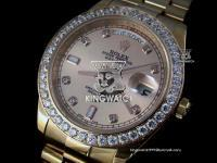 ROLEX DAY DATE PLATING ROSE GOLD SWISS 2836 AUTOMATIC ROSE 501